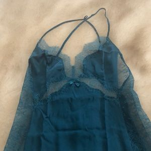 Victoria Secret dark green slip/nightgown... short